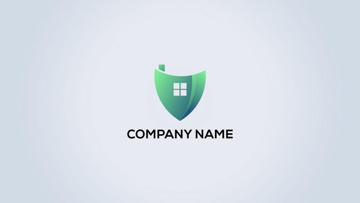 Home Protection Security Logo Vector