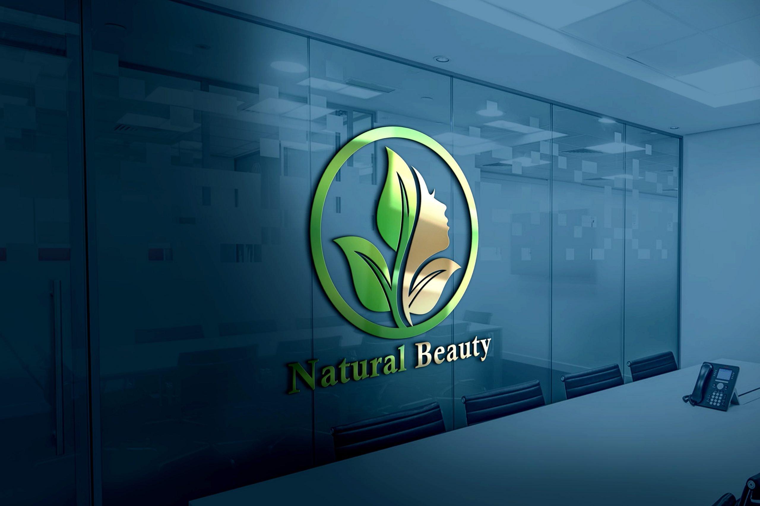 Natural Beauty Logo Design Download
