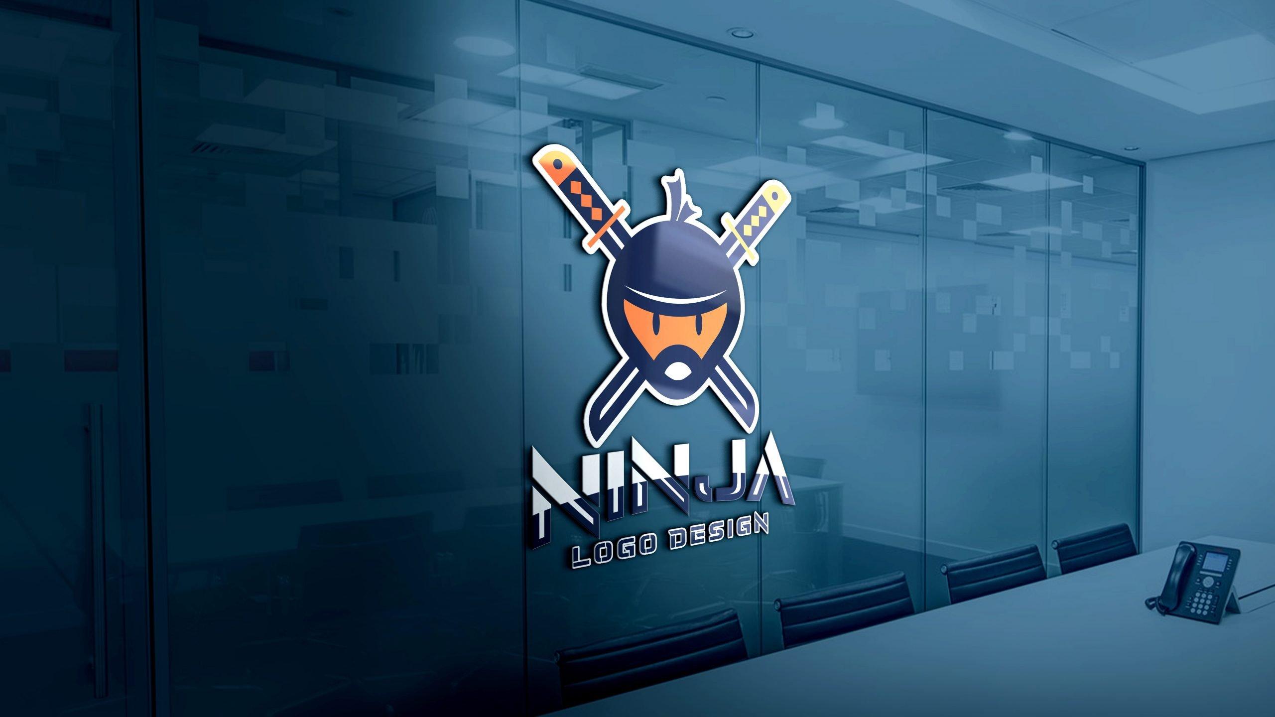 Ninja Logo Design Template
