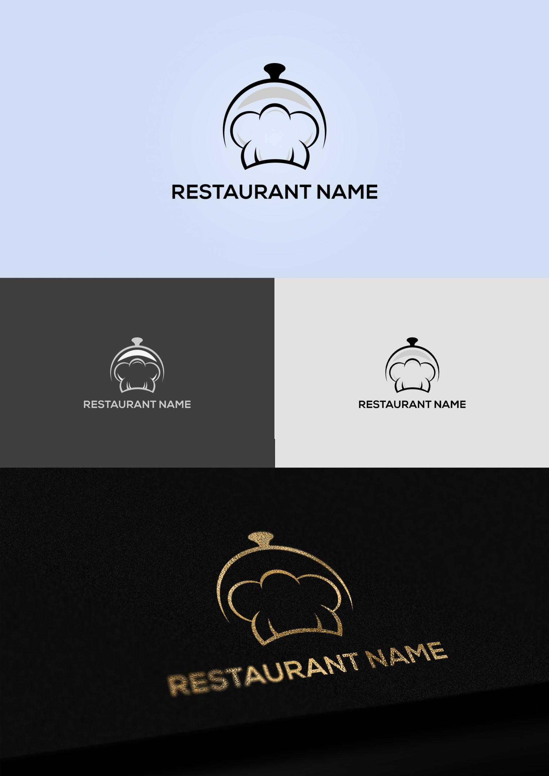 Restaurant Chef Logo Design Template Download
