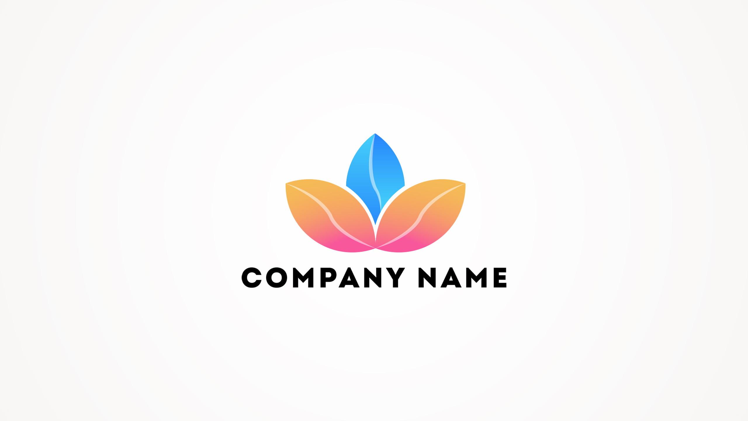 3 Leaves Logo Design Vector Download