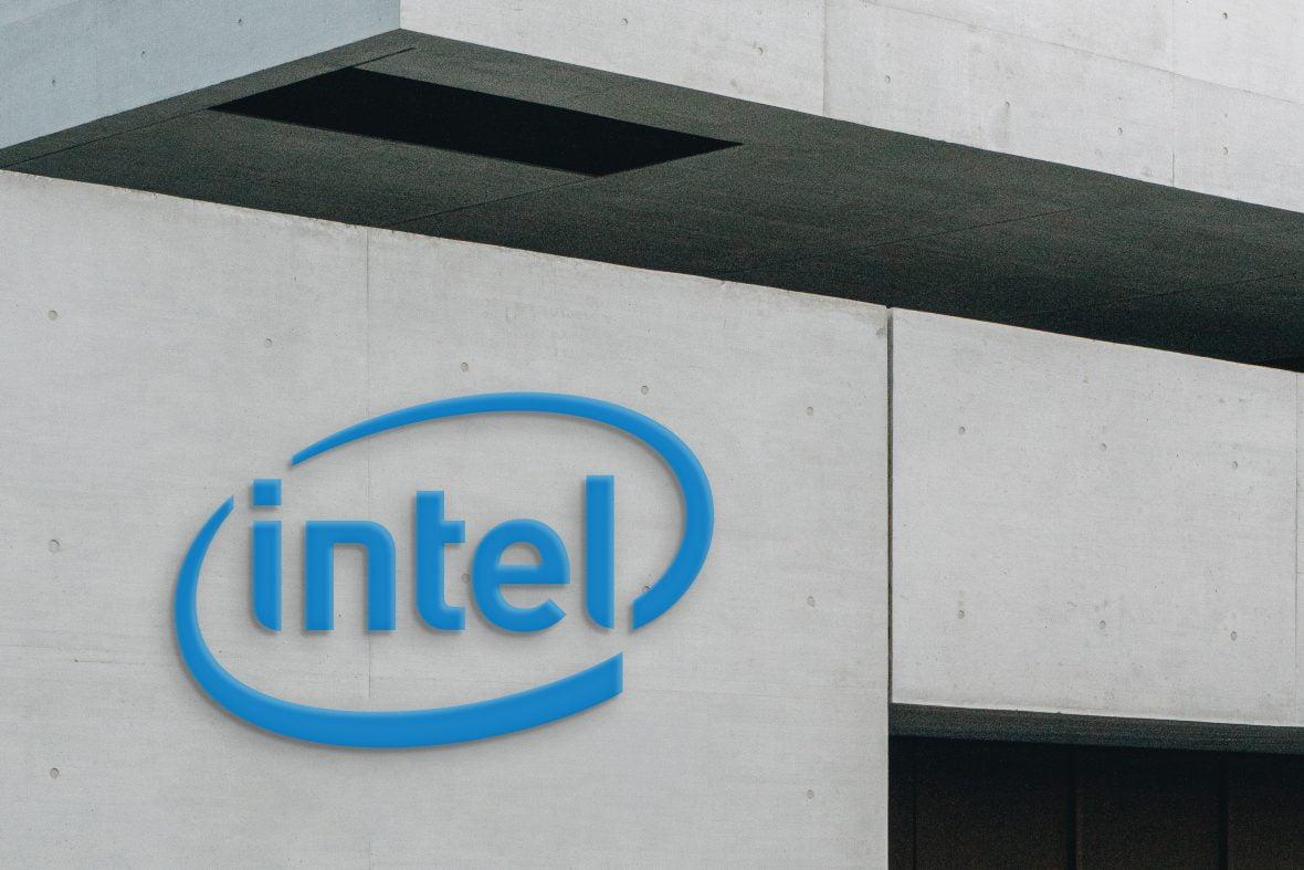 3D Company wall logo mockup
