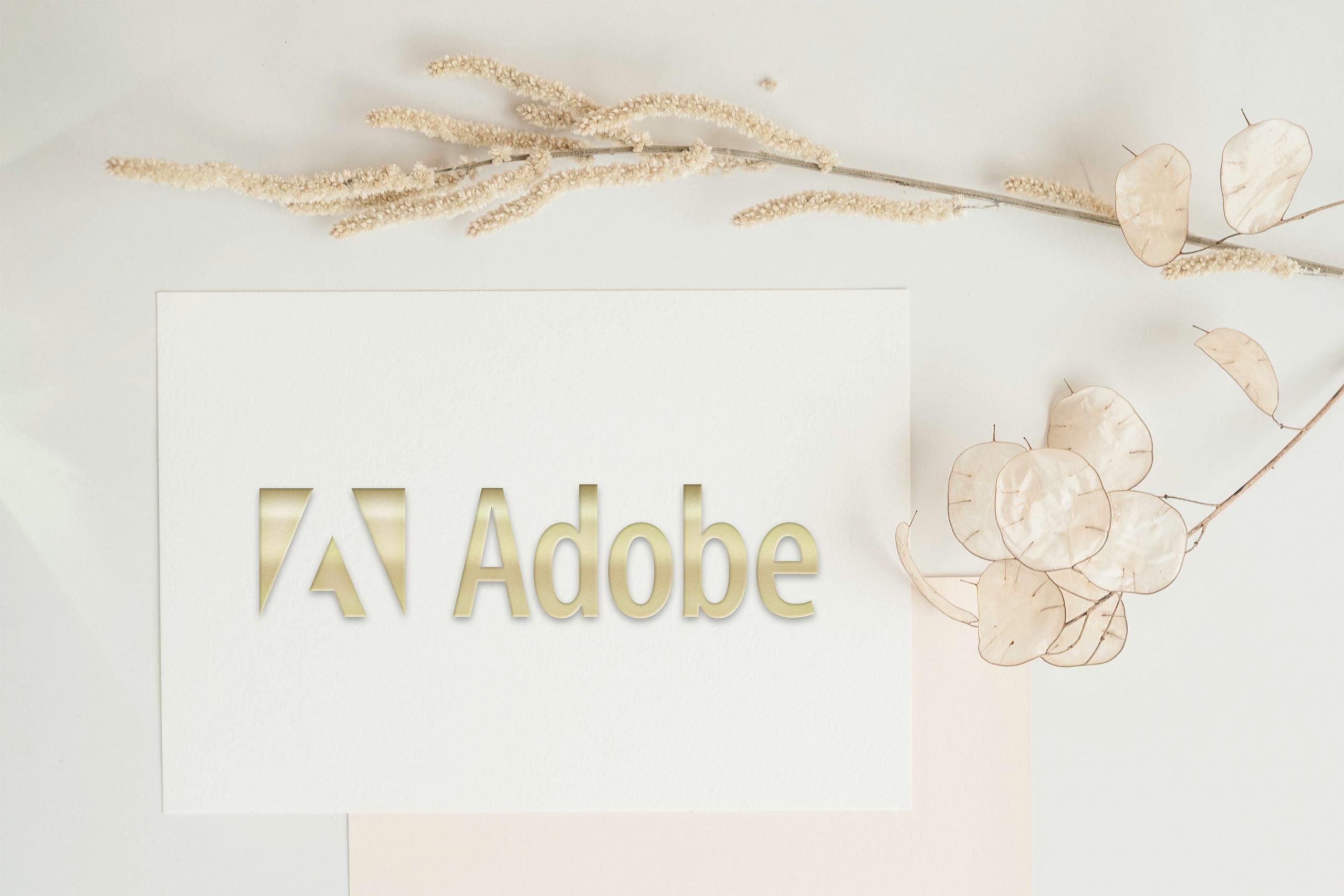 3D Embossed Golden Logo Card Mockup Free PSD