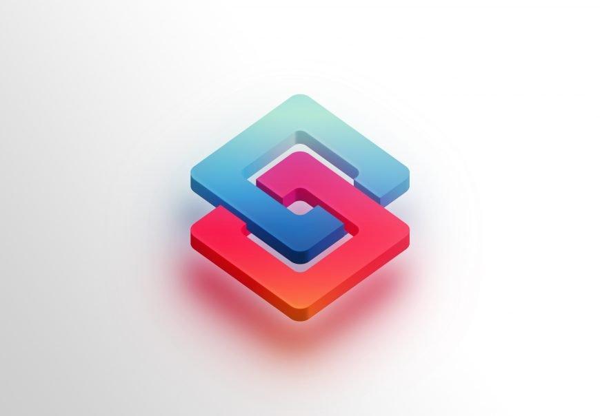 3D Icon Logo Mockup Download