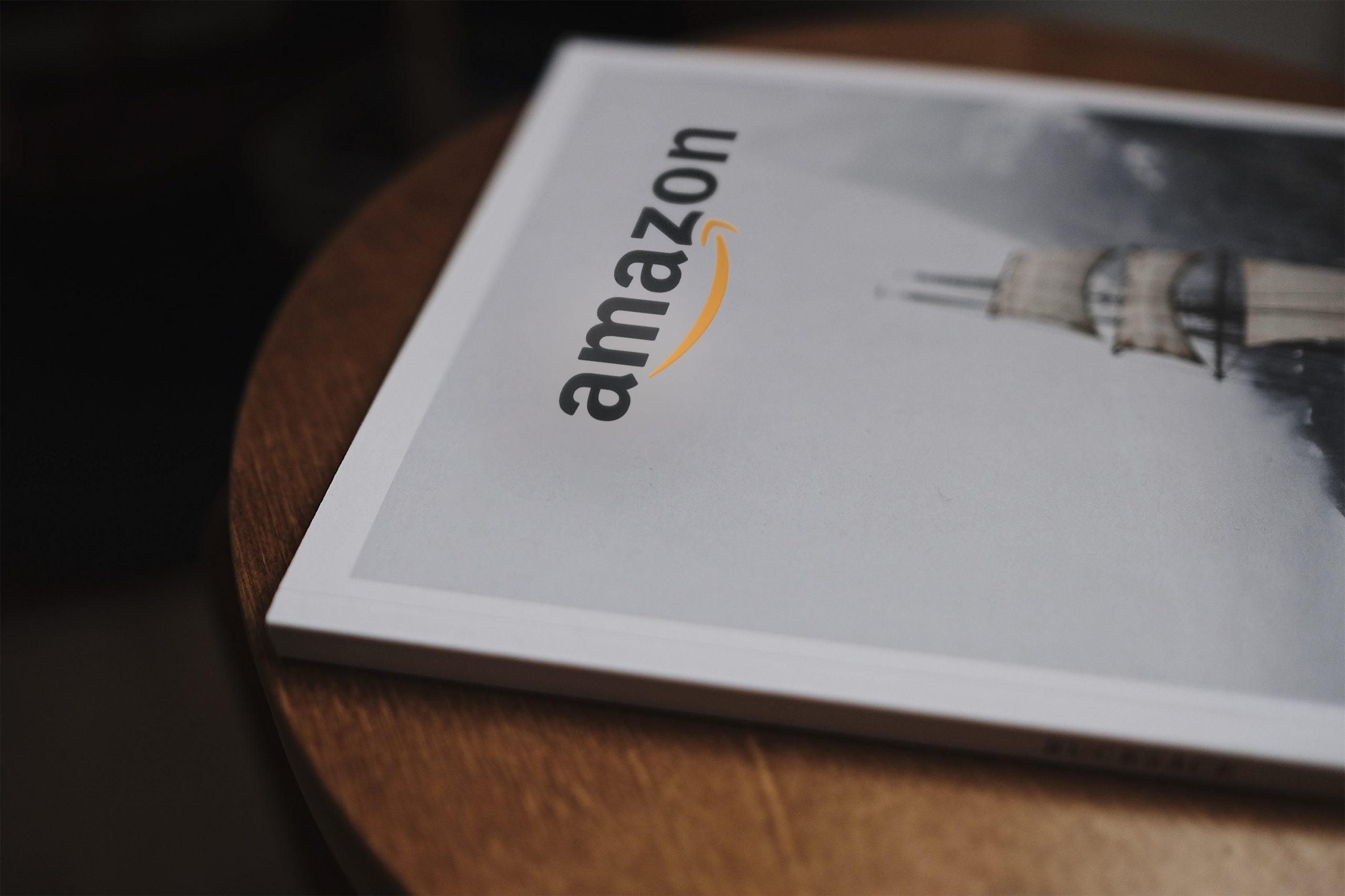 Amazon Book Logo Mockup