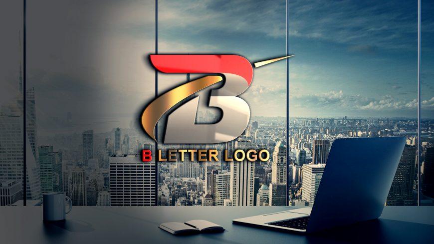 Letter B Logo Design Template