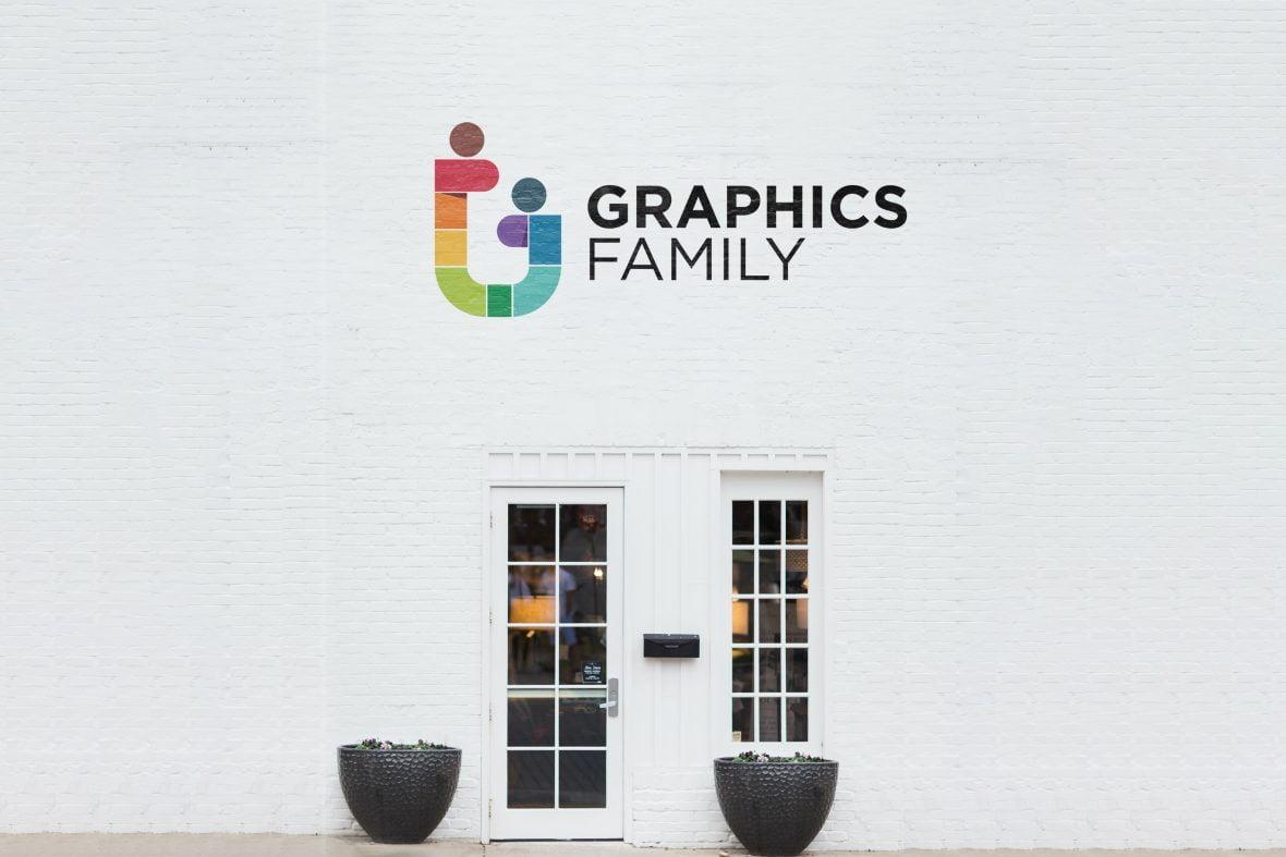 Beautiful Shop Logo Mockup