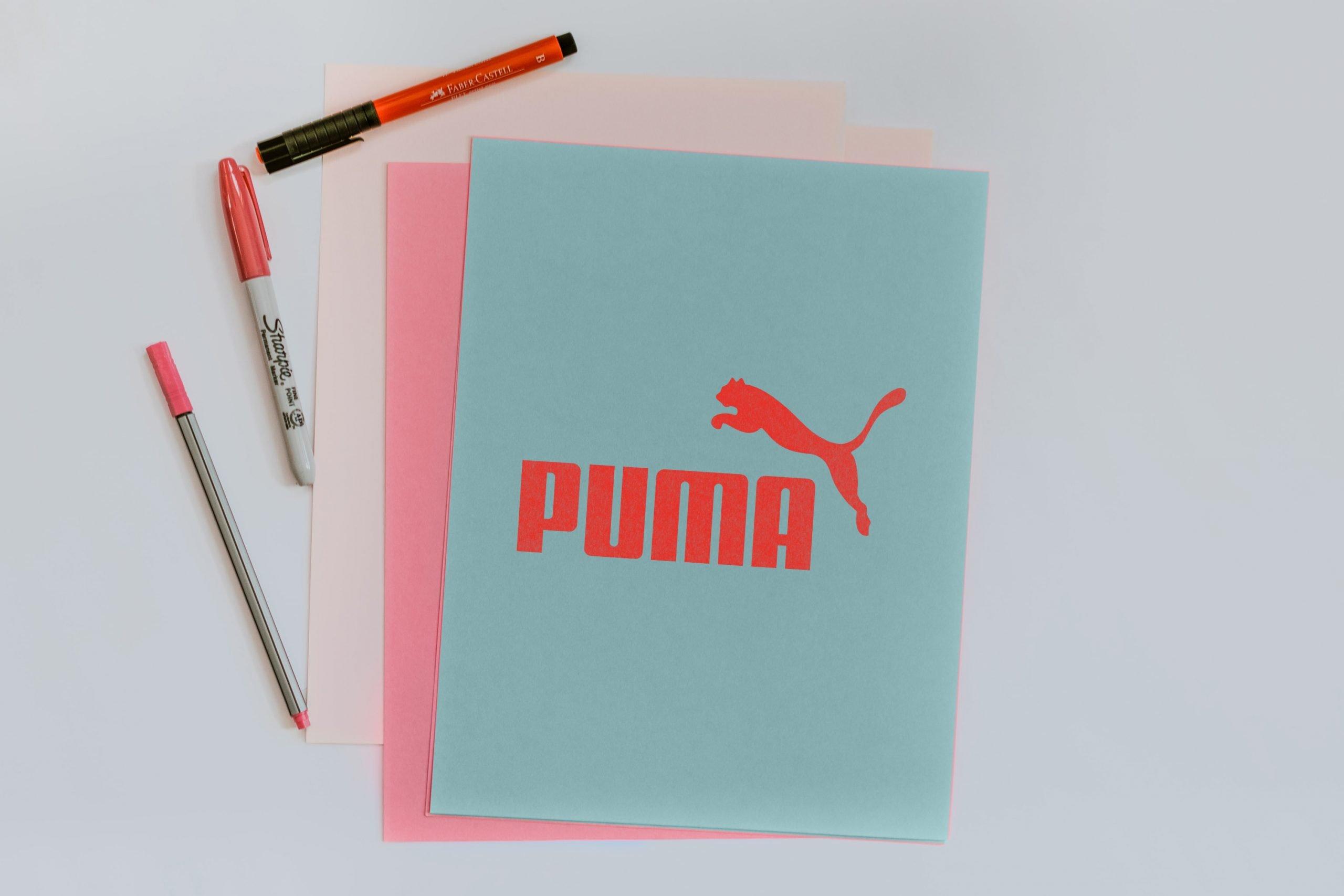 Color Paper Logo Mockup