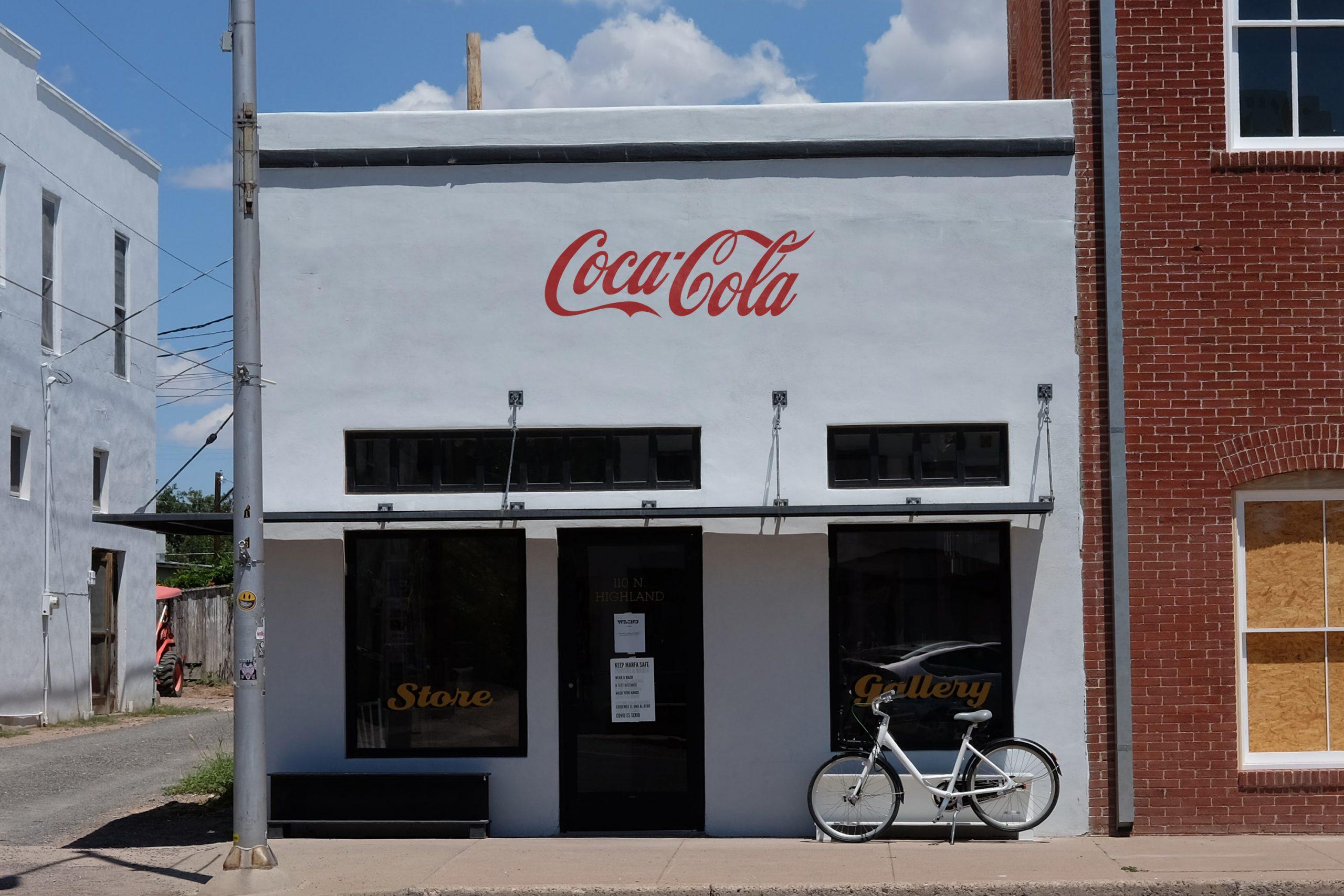 Free Corner Shop Realistic Logo Mockup