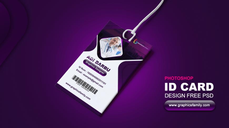 Corporate Office ID Card Design