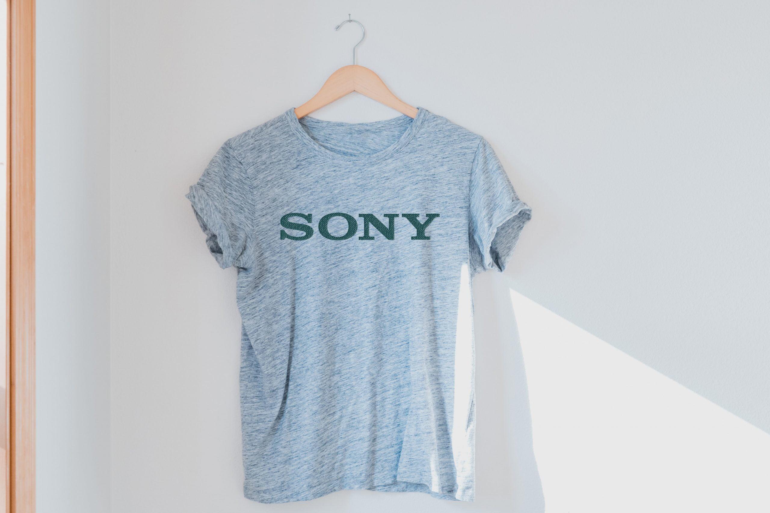 Download Haze Gray T-Shirt Logo Mockup