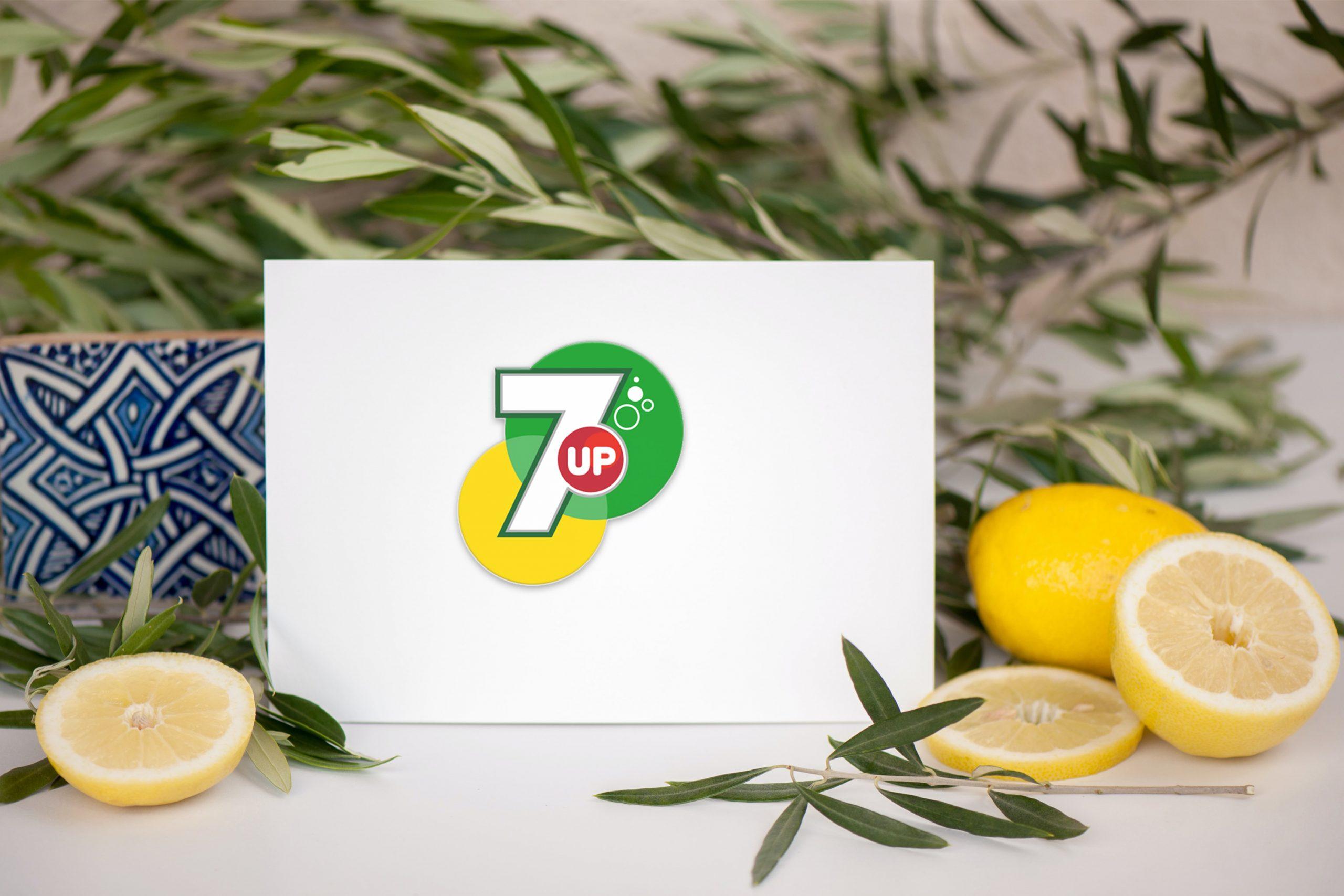Download Lemonade Card Logo Mockup