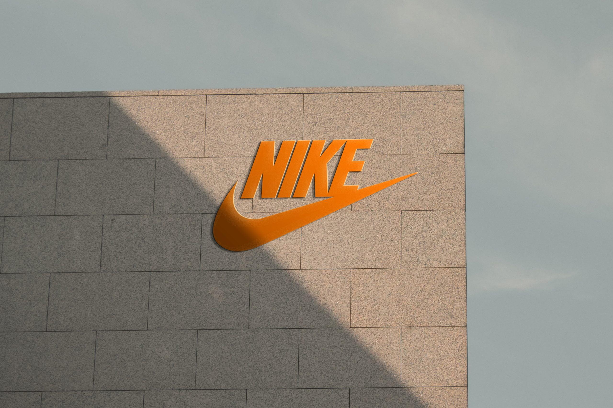 Download Sunset Wall 3D Logo Mockup