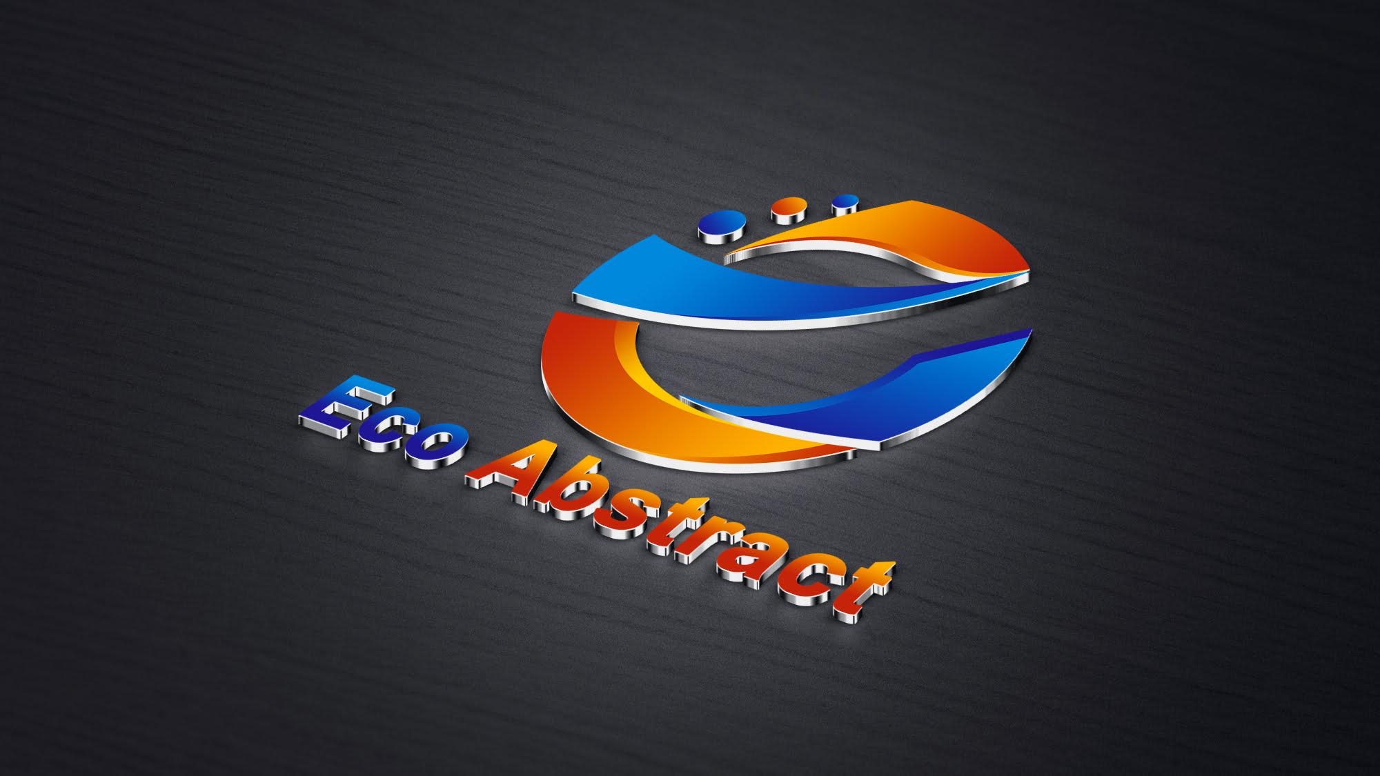 Eco Abstract Logo Design