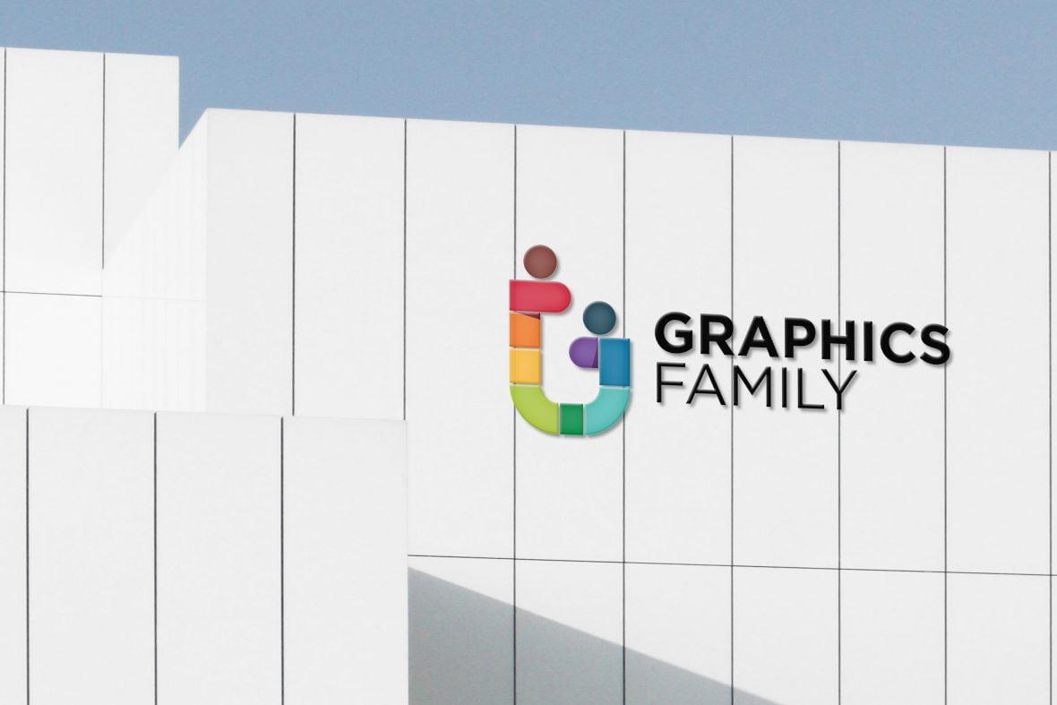 Elegant Business Building Logo mockup