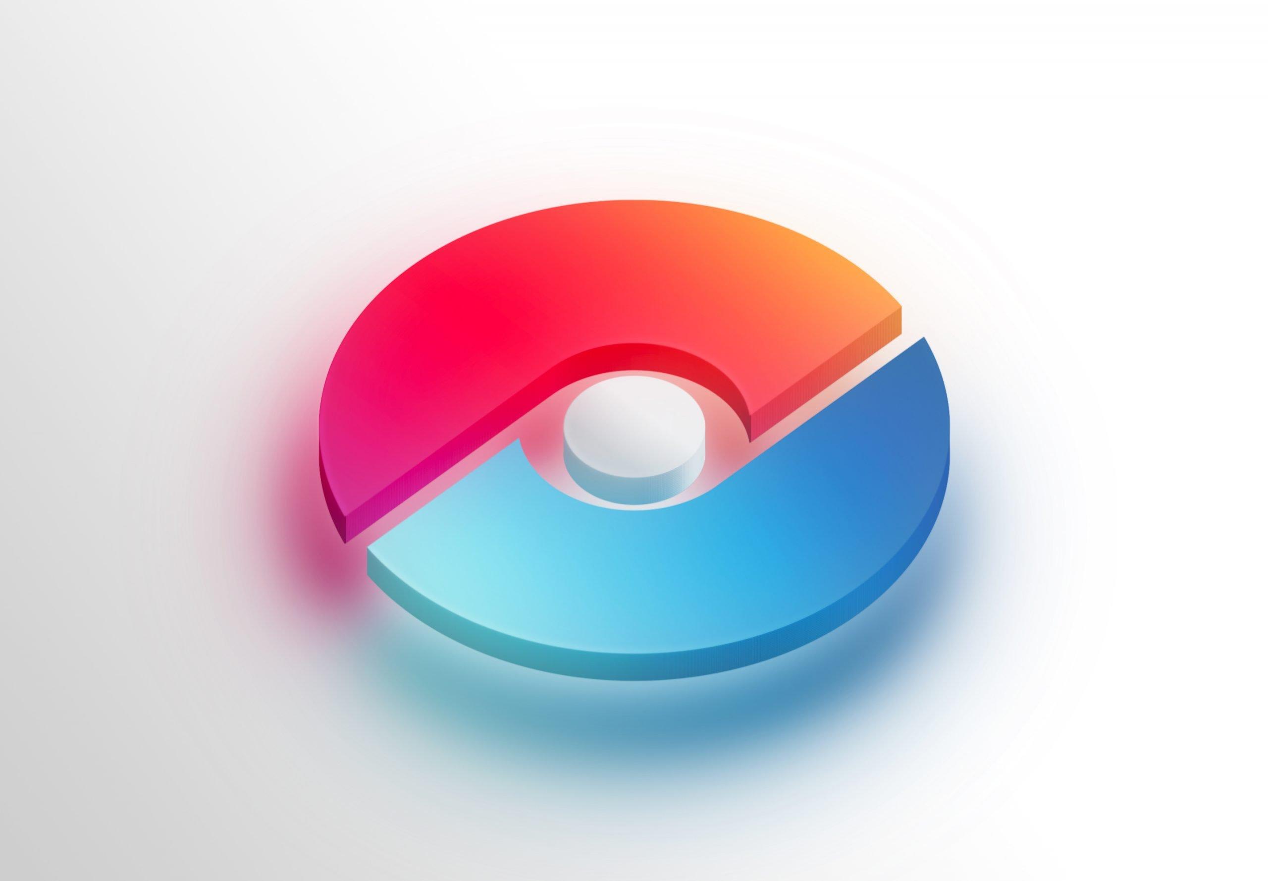 Free 3D Icon Logo Mockup
