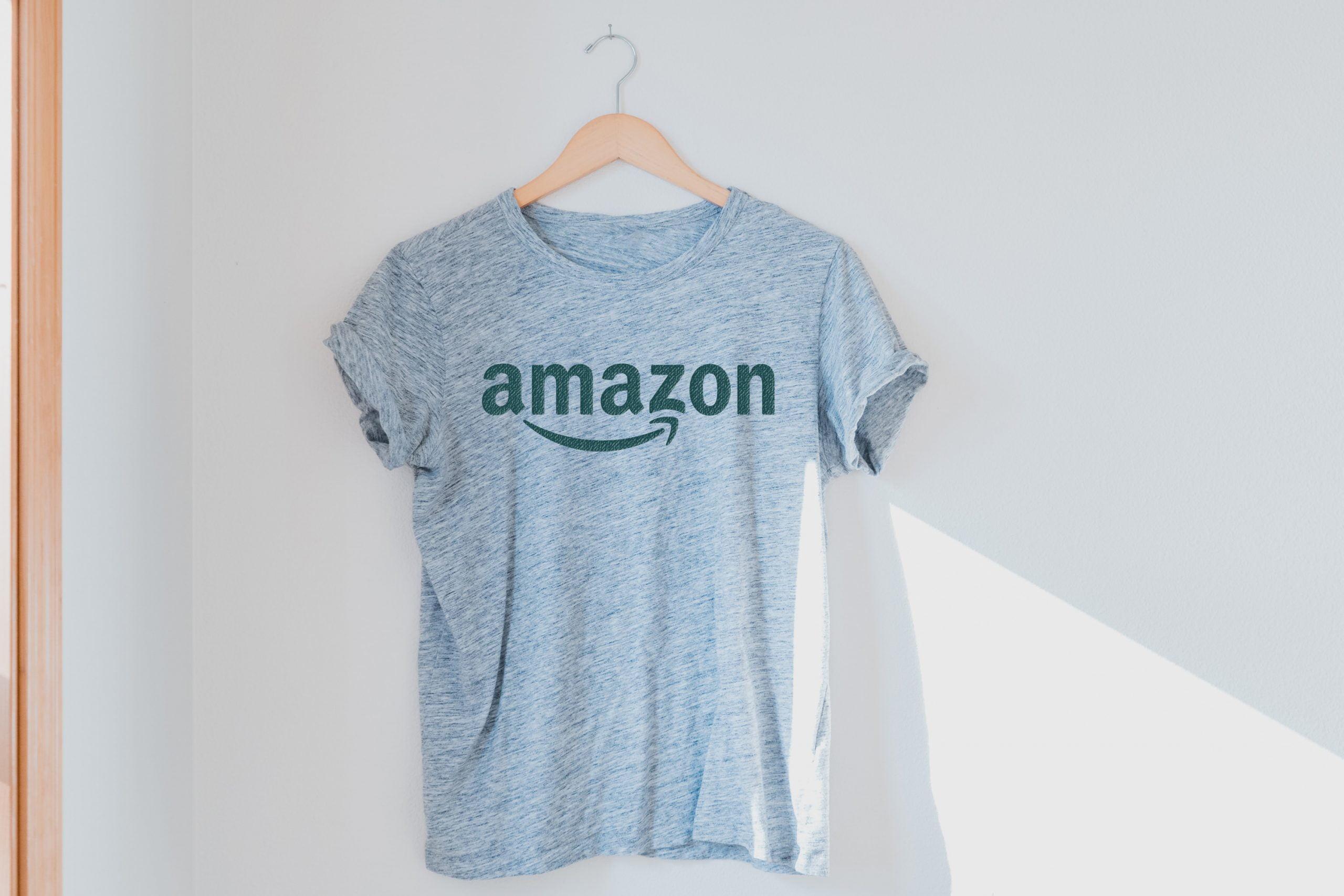 Free Download Haze Gray T-Shirt Logo Mockup