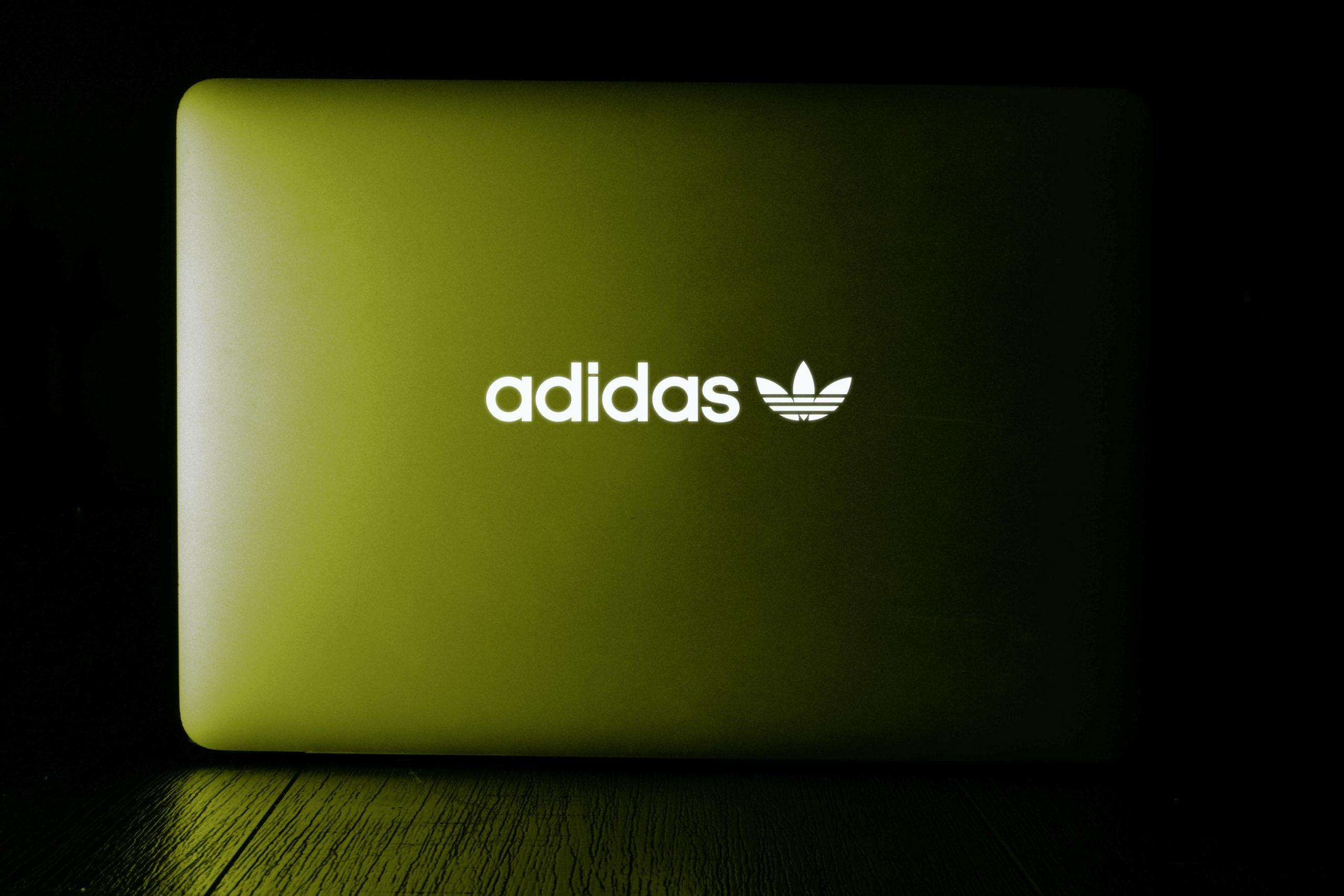 Laptop Glowing Logo Mockup
