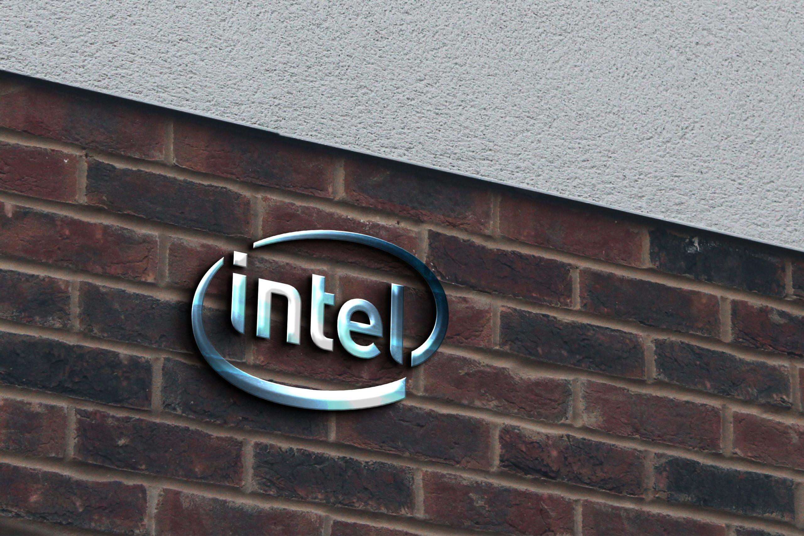 Free Glass Logo on Brick Wall Mockup