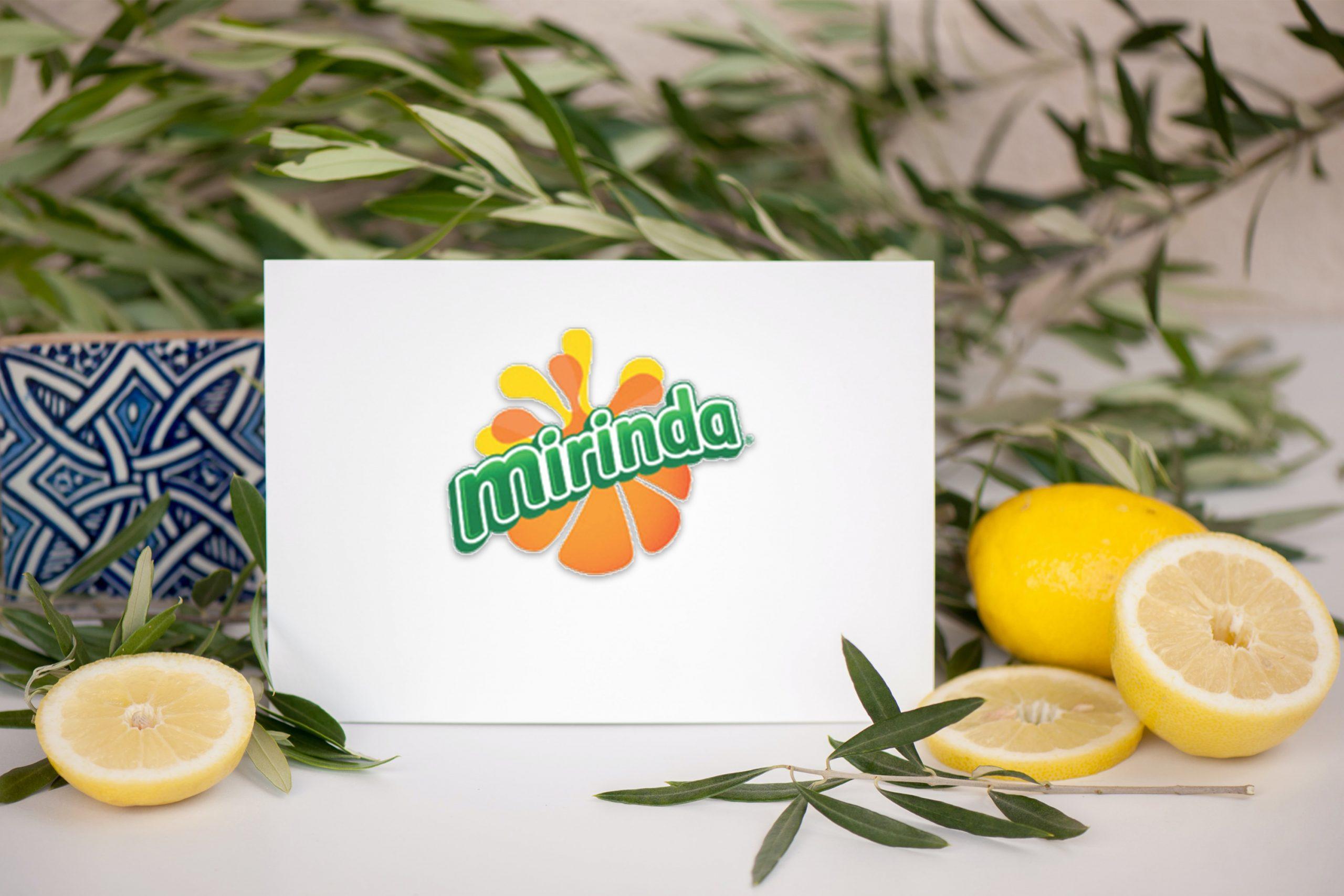 Free Lemonade Card Logo Mockup