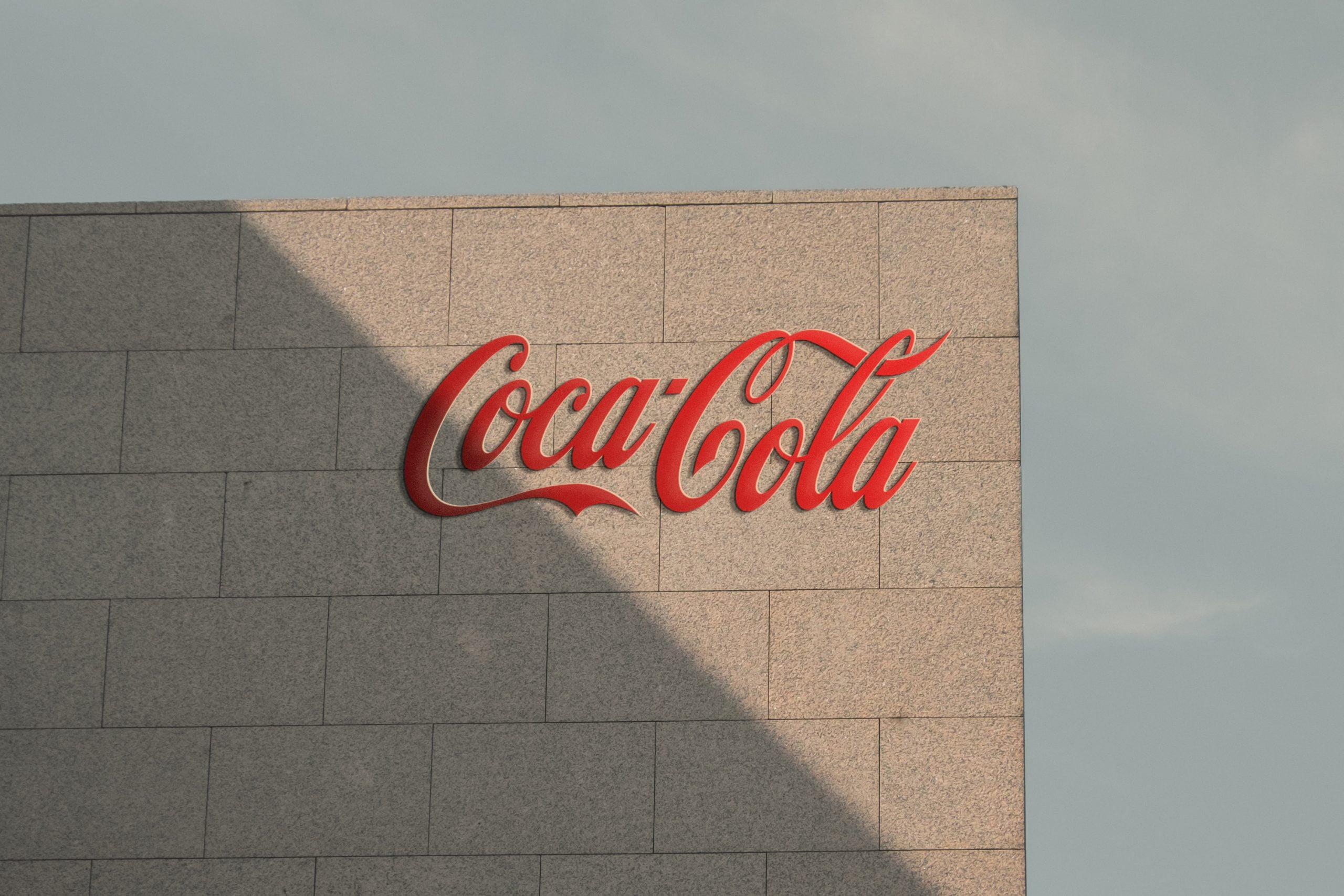 Free Sunset Wall 3D Logo Mockup