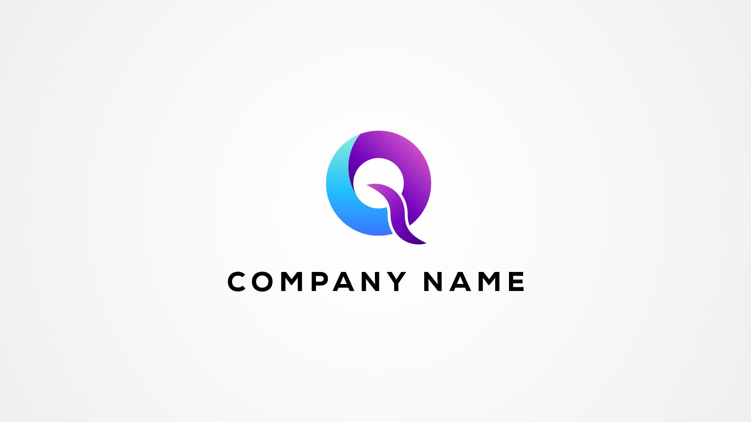 Letter Q Logo Design Vector