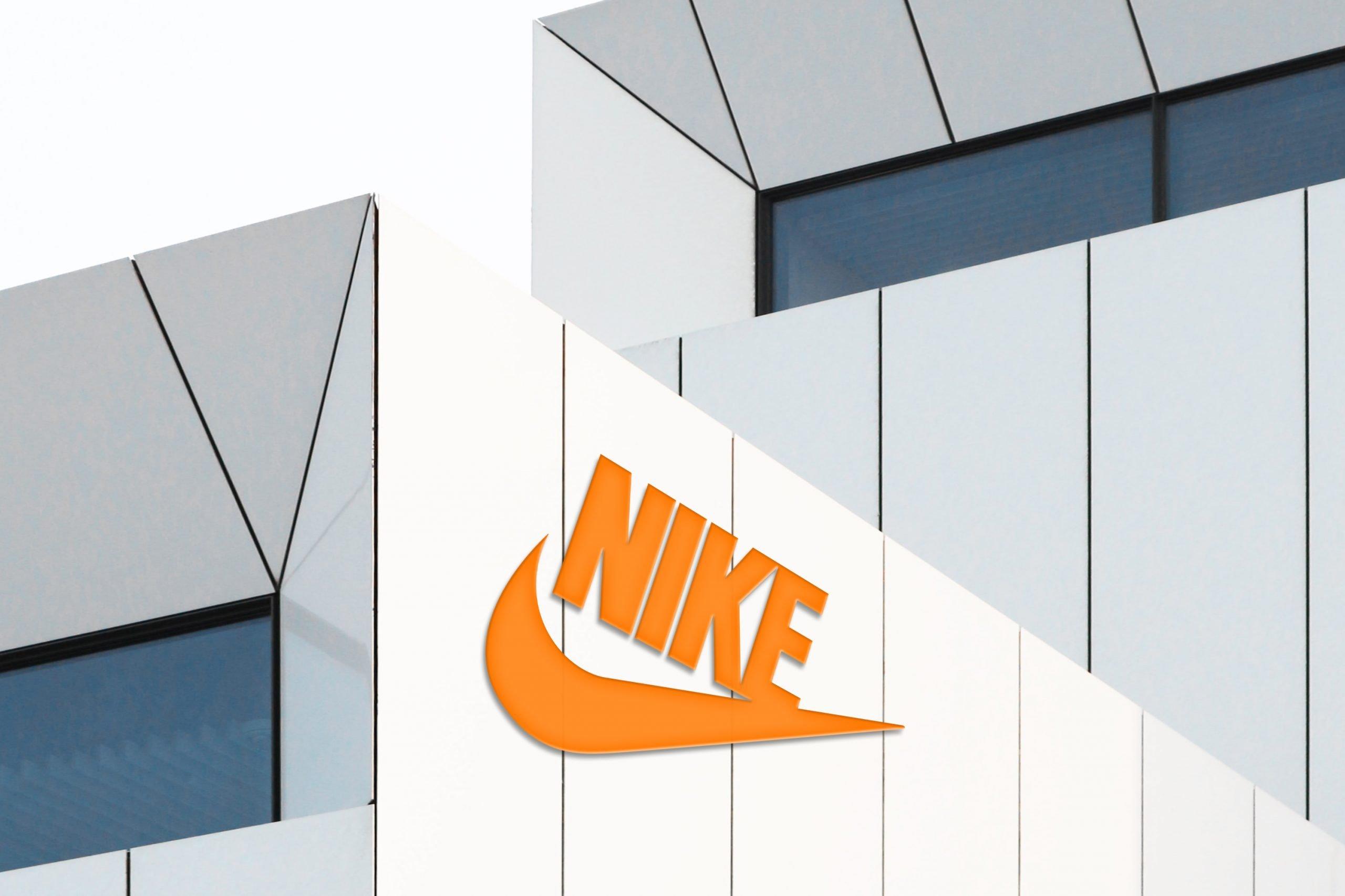 Luxury White Building Logo Mockup in Photoshop