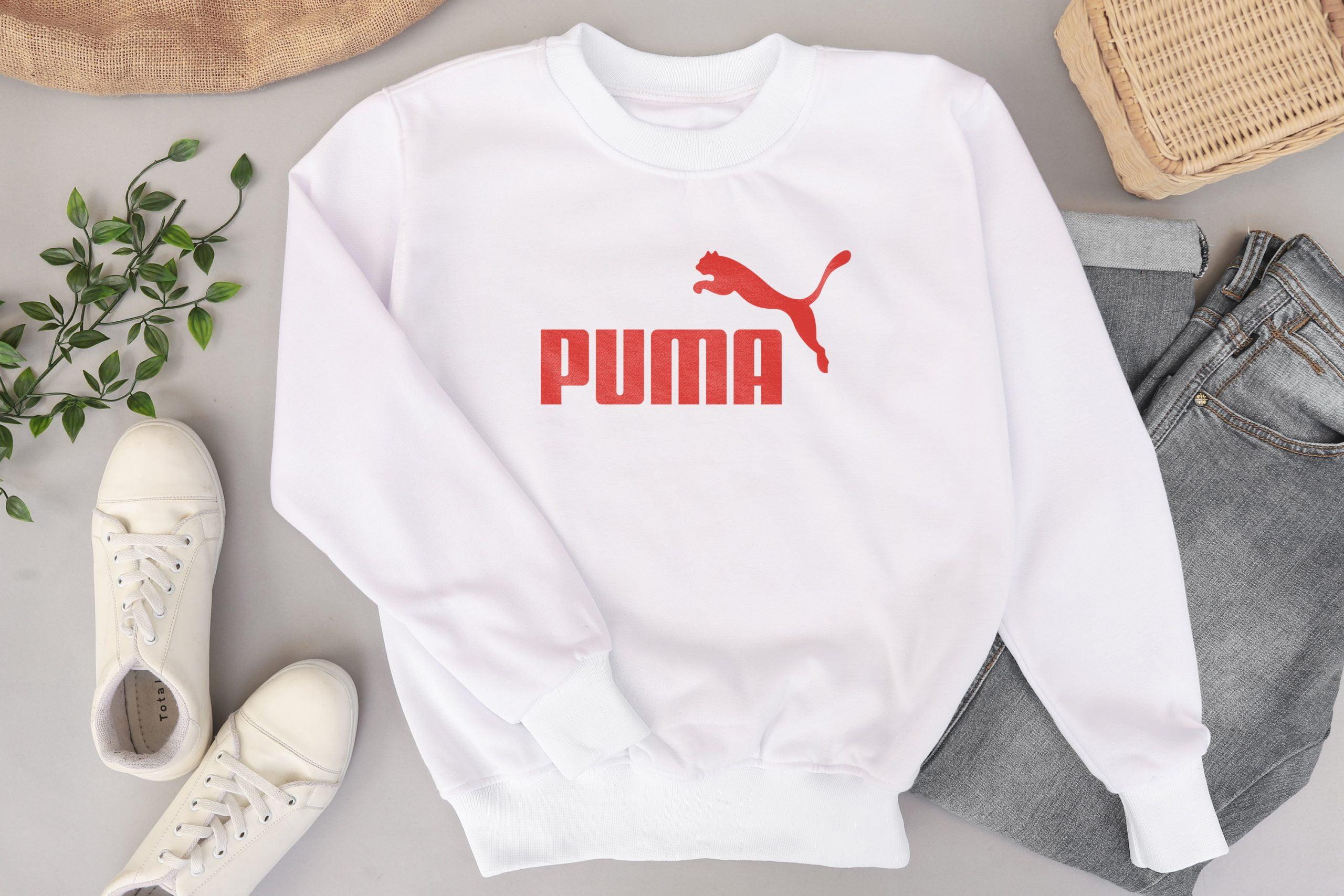 Minimal Sweater Shirt Logo Mockup Download