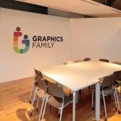Office Meeting Room Interior Logo Mockup