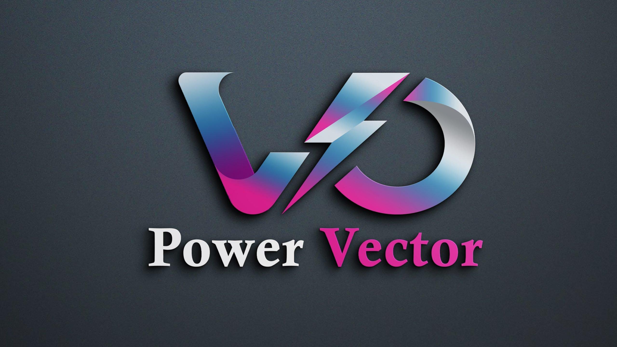 Power Vector Logo Design