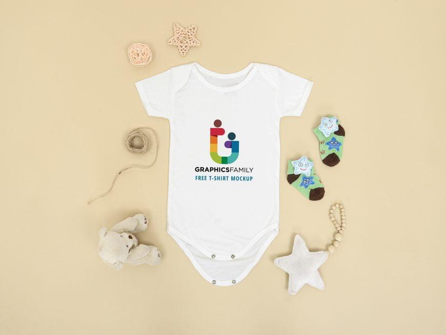 Tshirt Mockup Baby Uni