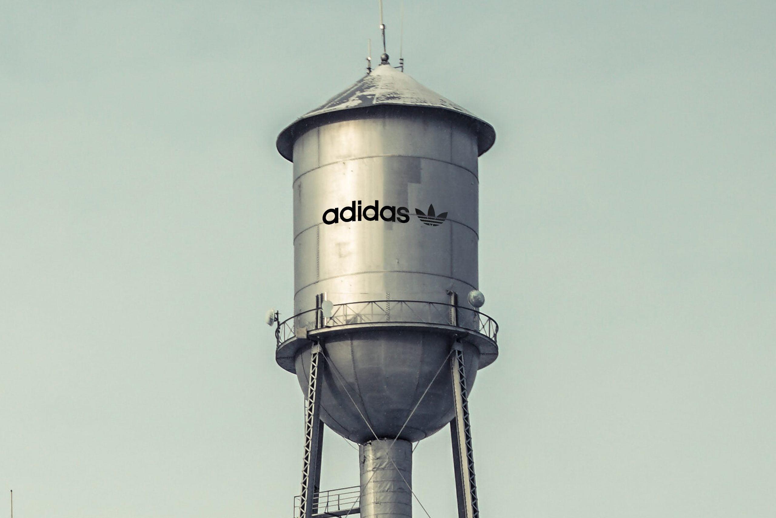 Water Tank Logo Mockup in Photoshop